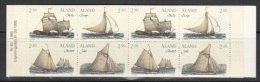 Aland    Scott No.  112a     Mnh      Year  1995     Complete Booklet - Aland