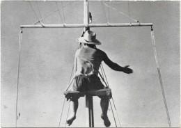 PECHE A LA BALEINE Aux ACORES -BALEIAS- Le Mousse Aperçoit Le Cachalot -Carte Photo Ruspoli - RARE - - Pêche