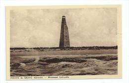 CPA 33 CPSM Pointe De La Grave Monument Lafayette - Other Municipalities