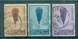 BELGIE - OBP Nr 353/355 - Ballon Piccard - Gest./obl. - Cote 18,00 € - Belgium