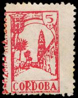 "CORDOBA - ELN - EDIFIL ** 18 - SELLO CORTO \""PRO BENEFICENCIA\ - 1931-50 Nuevos & Fijasellos"