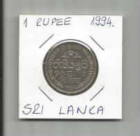 G3 Sri Lanka 1 Rupee 1994. - Sri Lanka