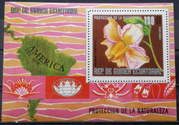 Equatorial Guinea, 1976, Block 232, (MNH) - Plants