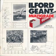 ILFORD  Géant Multigrad - Material Y Accesorios