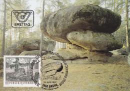 "1984, Maximumkarte ""Der Naturpark Blockheide Eibenstein Bei Gmünd"" - Cartes-Maximum (CM)"