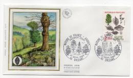"""1985--enveloppe 1er Jour - FDC """"Soie"""" -arbre--Orme De Montagne --cachet  ORLEANS--45 - FDC"""