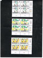 EUROPA CEPT - 1989   GUERNSEY: SERIE COMPLETE IN QUARTINA -  NUOVI  (MINT**) - Europa-CEPT