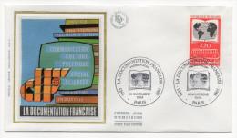 """1985--enveloppe 1er Jour - FDC """"Soie"""" -La Documentation Française -cachet  PARIS--75 - FDC"""