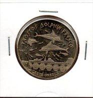 Monnaie De Collection NationalTokens : Knossos Dolphin Fresco Crete Greece - Tokens & Medals
