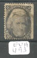 EUA Scott  73 Very Good YT 27 # - Used Stamps