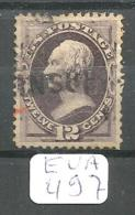 EUA Scott 151 Extremely Fine Red And INSUF(FICIENT) Cancellations YT 45 # - Used Stamps