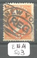 EUA Scott 163 Fine To Very Fine REG  Mail  Edge Sheet YT 56 # - Used Stamps