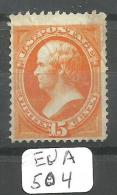 EUA Scott 141 YT 46a # - Used Stamps