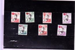 INDOCHINE :  Y&T : 65 à 71* - Indochine (1889-1945)