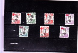 INDOCHINE :  Y&T : 65 à 71* - Indocina (1889-1945)