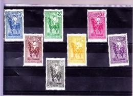 MADAGASCAR :  Y&T : 214* à 221* Manque 217 - Madagascar (1889-1960)