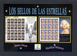 España. *Los Sellos De Las Estrellas...* Ed. Infimar. Impreso Díptico. Nueva. - Sellos (representaciones)