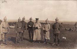CP Photo Aout 1916 ELSENBORN - Soldats Allemands Du IR 25 (A113, Ww1, Wk 1) - Elsenborn (camp)