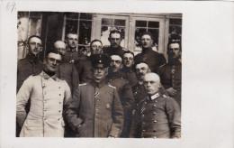 CP Photo Juin 1916 ELSENBORN - Officiers Allemands Du IR 25 (A113, Ww1, Wk 1) - Elsenborn (camp)