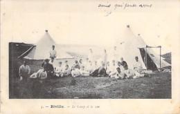 MILITARIA - BIVILLE 50 : Le Camp Et La Mer - CPA - Manche - Militaria
