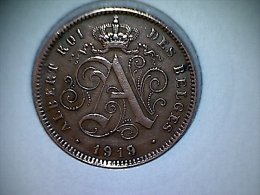 Belgique 2  Centimes 1919 FR - 02. 2 Centimes