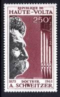 Haute Volta P.A. N° 40 XX 2ème Anniversaire De La Mort Du Dc Albert Schweitzer  Sans Charnière TB - Upper Volta (1958-1984)
