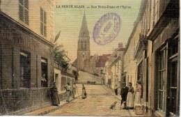 91  LA FERTE ALAIS  Rue Notre Dame Et L'Eglise - La Ferte Alais
