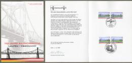 "Bund + Österreich: Minister Card - Ministerkarte , Mi-Nr. 2345: "" Salzachbrücke ""  Joint Issue Gemeinschaftsausgabe X - Covers & Documents"