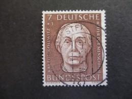 Bundesrepublik Deutschland 1954, 28. Dez., Wohlfahrt, Helfer Der Menschheit - Usados