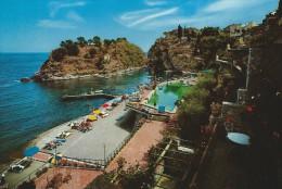 Taormina  Baia Di Spisone   Italy.  Sent To Denmark  # 04625 - Italy