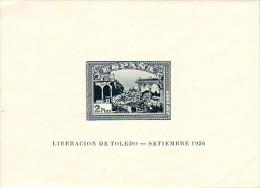Espagne 1937  Y&T  BF 2a  N**   (cote Y&T 2008: 600 €) - Blocks & Sheetlets & Panes