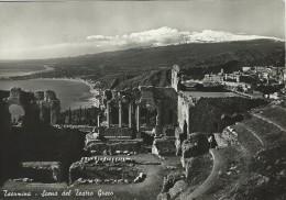 Taormina  Scena Del Teatro Greco.   # 04630 - Italy