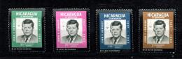 Nicaragua  **  N° 543 à 546     - Kennedy - Nicaragua