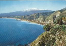 Taormina   - Rada Di Giardini.  Sent To Denmark    # 04632 - Italy