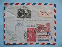 Lettre De Bongor à Fort-Lamy  20 Juin 1955 - A.E.F. (1936-1958)