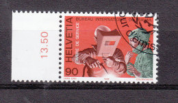 1988  BIT                 N° 110    OBLITERE   CATALOGUE  ZUMSTEIN - Servizio
