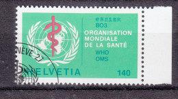 1988  OMS                 N° 40    OBLITERE   CATALOGUE  ZUMSTEIN - Service