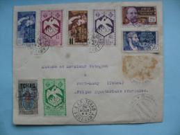 Lettre De Brazzaville à Fort Lamy  2 Avril 1952 - A.E.F. (1936-1958)