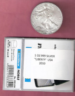 AMERIKA DOLLAR 2010 LIBERTY SILVER UNC IN BOX - Émissions Fédérales