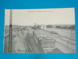 Algérie ) Metlaoui - Philippe Thomas -  La Gare - Train  - Année  - EDIT - - Autres Villes