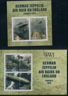 FA0913 2014 Maas Island Celtics A Battle For Centuries Zeppelin MS + M New 0527 - Zeppelins