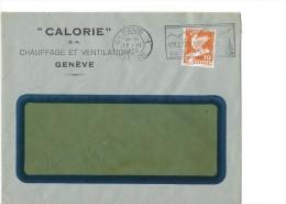 12738 - Lettre Calorie SA Chauffage Et Ventilation Genève 15.06.1932 - Suisse