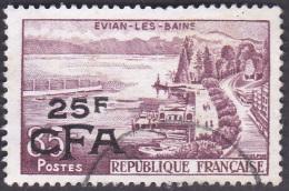 Réunion Obl. N° 341 - Evian Les Bains - Le Lac - Réunion (1852-1975)