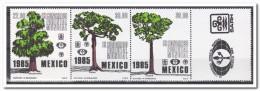 Mexico 1985, Postfris MNH, Trees - Mexico