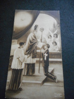 """IMAGE PIEUSE """"CONFIRMATION"""" Eglise Des Carmes PONT L'ABBE -Jean CLEARCH 1944 - Religión & Esoterismo"""