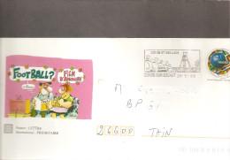 """Lettre  Prêt à Poster  """" Hihi De Binet """"   N° 3139  ( France 98  Fooot )   Flamme De Conde Sur Escaut (59) 26-5-1998 - Prêts-à-poster:  Autres (1995-...)"""