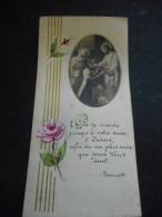 "IMAGE PIEUSE ""Voeux Perpétuels"" KERMARIA 1947 Soeur Marie Sainte Marcelle - Religión & Esoterismo"
