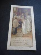 """IMAGE PIEUSE """"Confirmation"""" PONT L'ABBE 1932 - Parrain Dr JAOUEN - Marraine Madame POULIGUEN - Religion & Esotericism"""