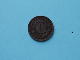 1869 A - 1 Cent / KM 11 ( Uncleaned - For Grade, Please See Photo ) ! - Uruguay