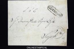 Italia:  Cover 1839 Ariano  To Napoli - Italia